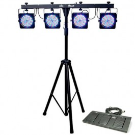 Chauvet 4BAR LED Wash Light Kit
