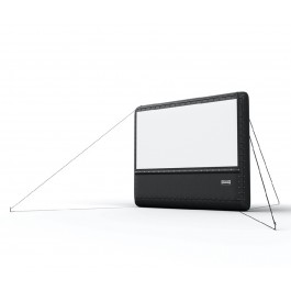 Airscreen Nano Inflatable Outdoor Projection Screen - 10'W x 6'H Viewing Area