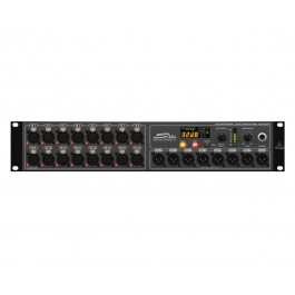 Behringer S16 Digital Snake (Includes 2 Units Racked in SKB Case for 32 Inputs and 16 Outputs)