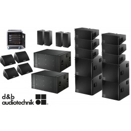 Sound Packages from d&b audiotechnik