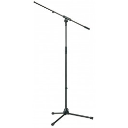 "König & Meyer 210/6 Tripod Microphone Stand with 32"" Boom, Black"