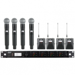 Shure ULXD4Q Digital Wireless Microphone Kit