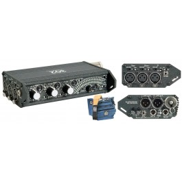 Sound Devices 302 Portable 3-Channel Field Mixer and Porta Brace MXC-302B Case