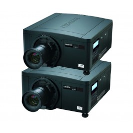 Ultimate Projection Package - 2x Christie Roadster HD14K-M - Stacked Configuration for 28,000 Lumens
