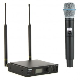 Shure ULXD2 Wireless Handheld Mic and ULXD4 Single Channel Wireless Receiver