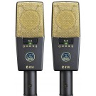 AKG C414 XLII Reference Multi-Pattern Condenser Microphone (Stereo Pair)